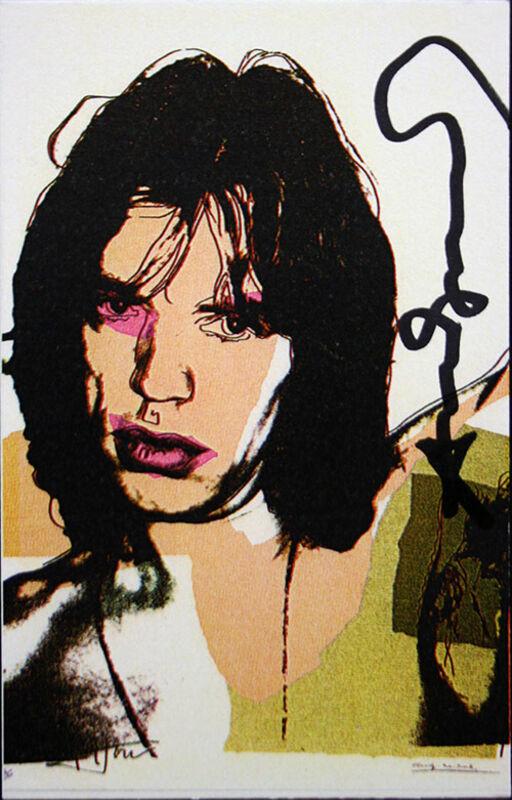 Andy Warhol, 'Mick Jagger (Invitation)', 1969, Print, Offset Lithograph, Thou Art