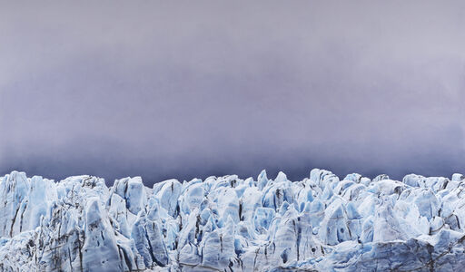 Zaria Forman, 'Risting Glacier, South Georgia, No. 1', 2016