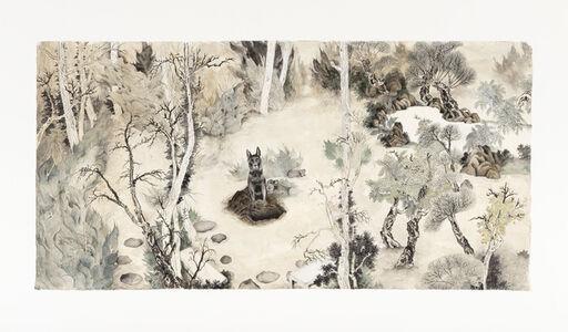 Chen Wen-Li, 'The wild dog in the park', 2016