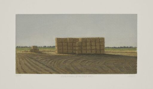Julie Bozzi, 'Evening/Stacked Hay', 2014