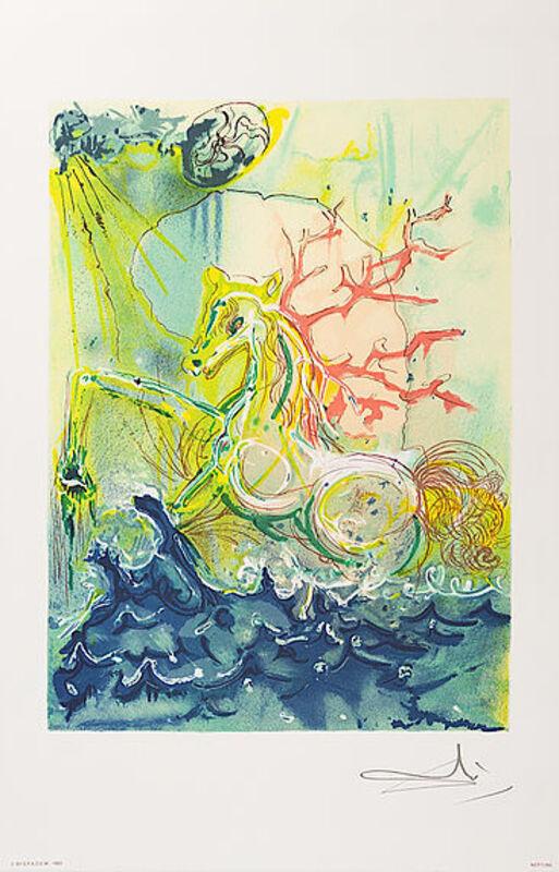Salvador Dalí, 'Neptune', 1983, Print, Lithograph, Viva la Vida Art Gallery