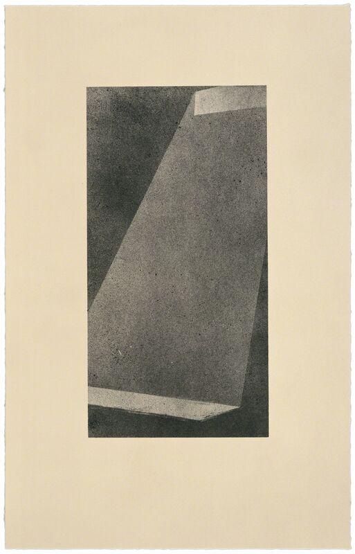 Ed Ruscha, 'Bolt I', 1998, Print, 1 color lithograph, Gemini G.E.L.