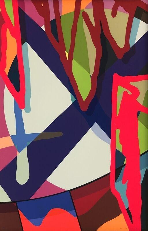 KAWS, 'Tension 3', 2019, Print, Screenprint on Saunders Waterford 425gm HP hi-white, Ross+Kramer Gallery