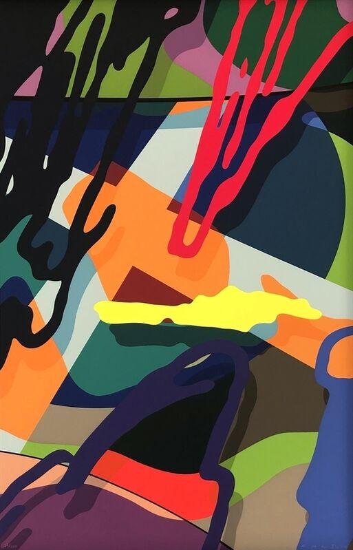 KAWS, 'Tension 5', 2019, Print, Screenprint on Saunders Waterford 425gm HP hi-white, Ross+Kramer Gallery
