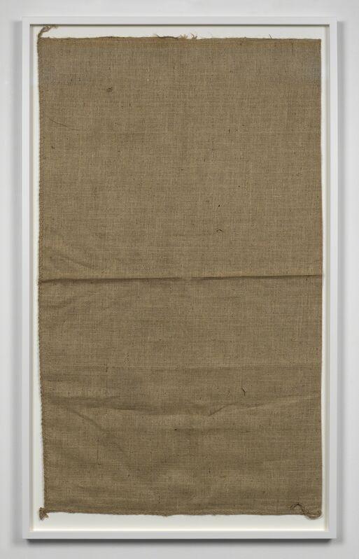 Matias Faldbakken, 'Untitled (Sack #3 )', 2013, Mixed Media, Canvas sack, Simon Lee Gallery