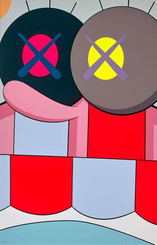 KAWS, 'Blame Game', 2014, Print, Screenprint in colours, Forum Auctions