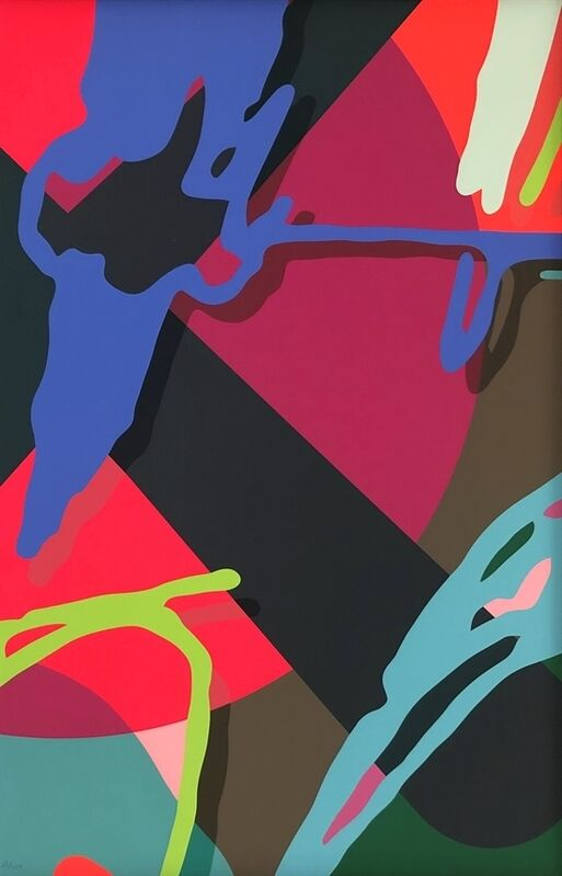 KAWS, 'Tension 4', 2019, Print, Screenprint on Saunders Waterford 425gm HP hi-white, Ross+Kramer Gallery