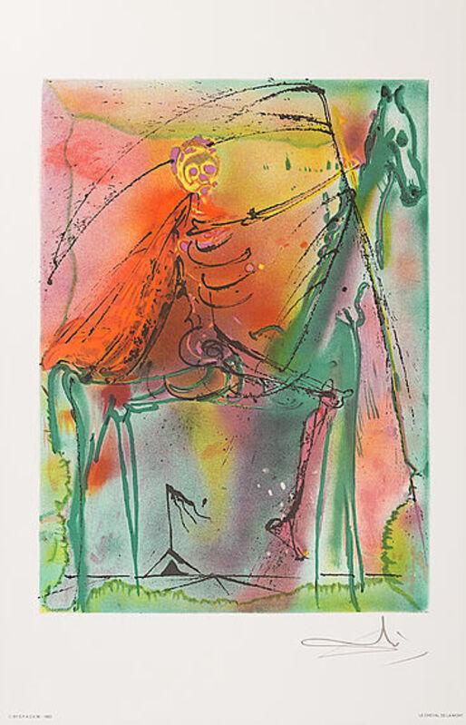 Salvador Dalí, 'Le Cheval De La Mort', 1983, Print, Lithograph, Viva la Vida Art Gallery