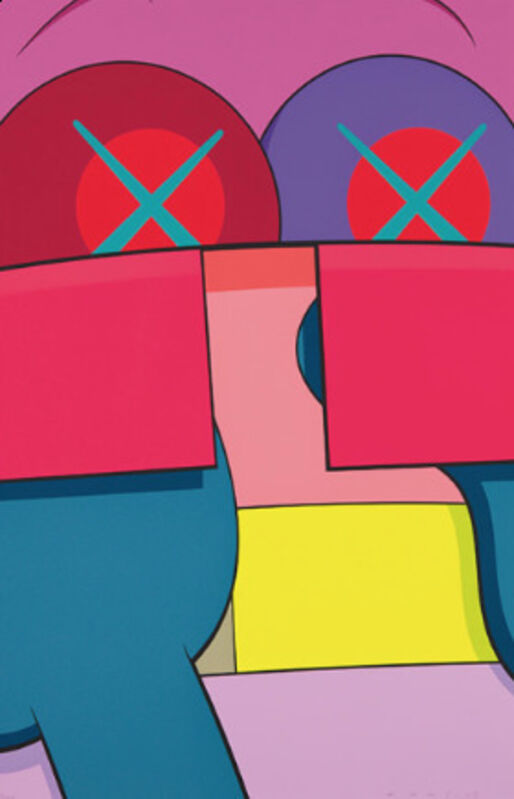 KAWS, 'Ups and Downs No. 2', 2013, Print, Screenprint on Saunders Waterford High White paper, Georgetown Frame Shoppe