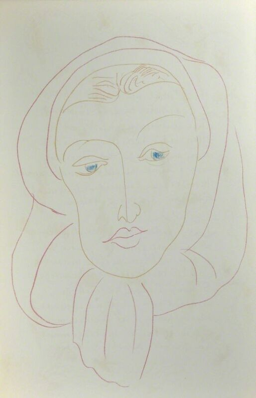 Henri Matisse, 'Poemes de Charles  d'Orleans', 1950, Print, Lithograph, Boreas Fine Art