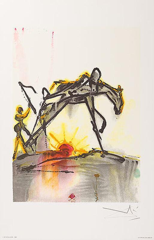 Salvador Dalí, 'Le Cheval De Labeur', 1983, Print, Lithograph, Viva la Vida Art Gallery