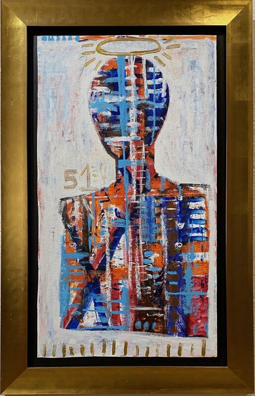Mercedes Lagunas, 'Saint 51', 2018, Painting, Acrylic On Canvas, Artemizia