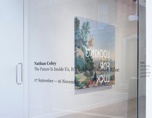 Nathan Coley: The Future Is Inside Us, It's Not Somewhere Else, installation view