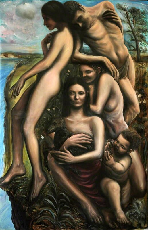 Federico Lombardo, 'Genesis II', 2014, Painting, Oil on canvas, Altro Mondo