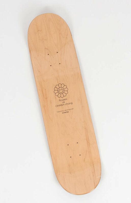 Takashi Murakami, 'Murakami Flowers skateboard deck (Takashi Murakami red flowers) ', 2017 , Design/Decorative Art, Silkscreen on Maple Wood, Lot 180