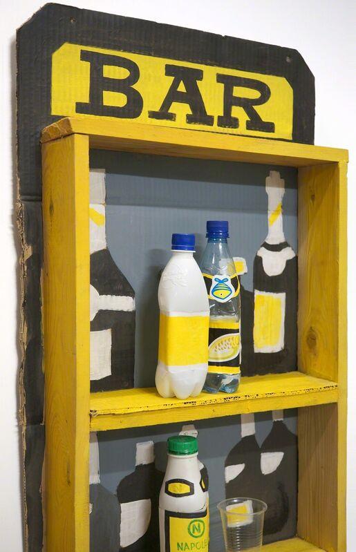Konstantin Zvezdochetov, 'Bar 2', 2009, Mixed Media, Wood, cardboard, acrylic, paper, plastic, XL Projects