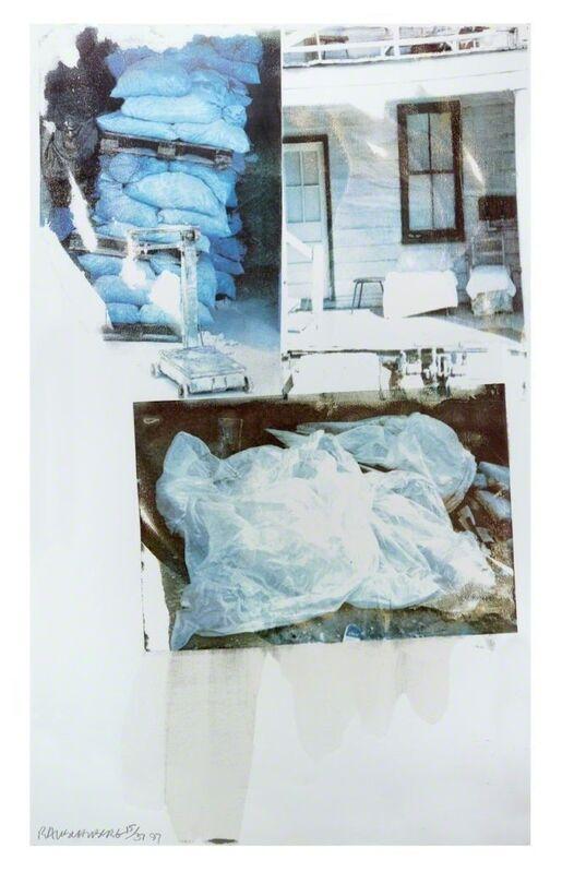 Robert Rauschenberg, 'Daydream (Speculations)', 1997, Print, Screenprint, Hamilton-Selway Fine Art