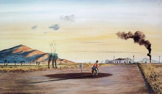 Peter Hurd, 'Carizozo, NM', 1950