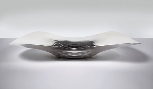 Zaha Hadid, 'Centrepiece 'Sterling Silver Liquid Glacial '', 2016