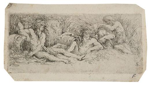 Salvator Rosa, 'River Gods', ca. 1660-1661