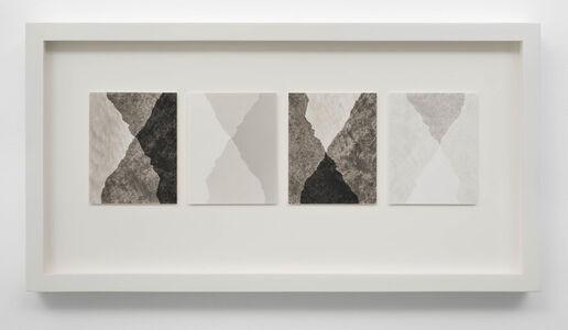 Scott B. Davis, 'Four Variations on Two Mountains', 2019