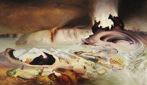 James Gleeson, 'Delenda est Carthago, etc.', 1983