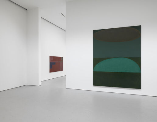 Suzan Frecon: oil paintings and sun, installation view