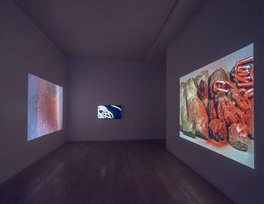 Isabelle Cornaro: Subterranean, installation view