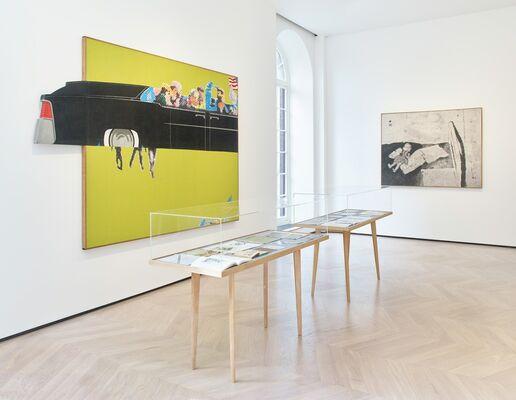 Source and Stimulus: Polke, Lichtenstein, Laing, installation view