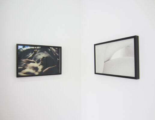 Visual poetry of the body and soul, installation view