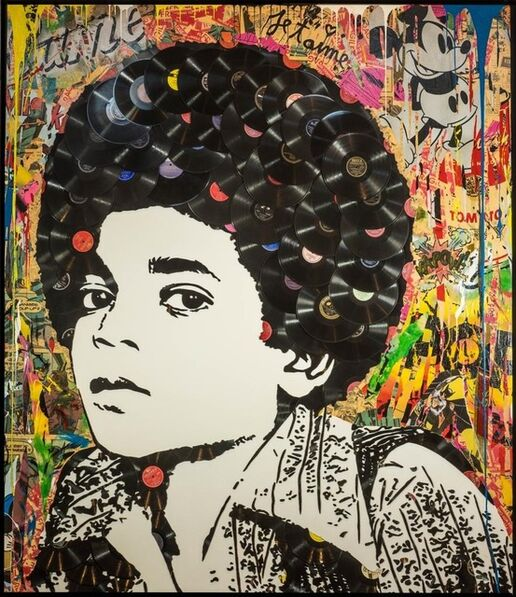 Mr. Brainwash, 'Michael Jackson', n.d.