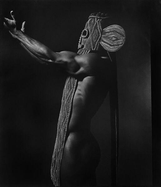 Len Prince, 'Nigel with Mask, Pos. II', 1990
