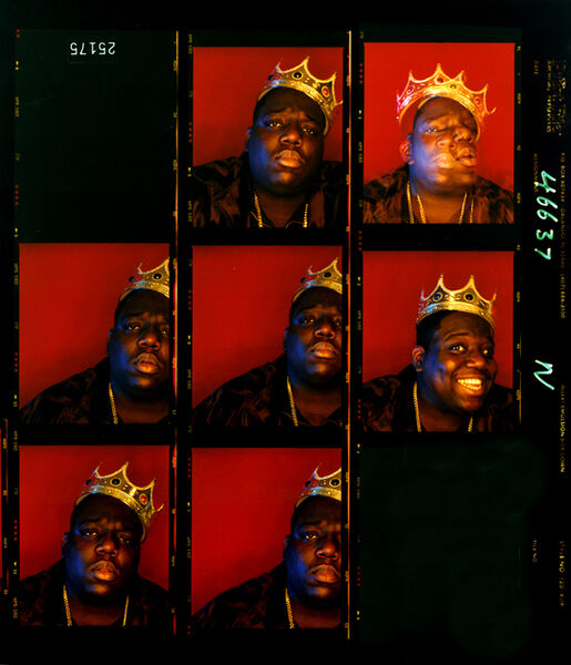 Barron Claiborne, 'Biggie Smalls, King of New York', 1997