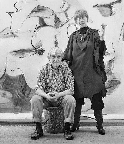 Mariana Cook, 'Willem and Elaine de Kooning, East Hampton, New York', 1983