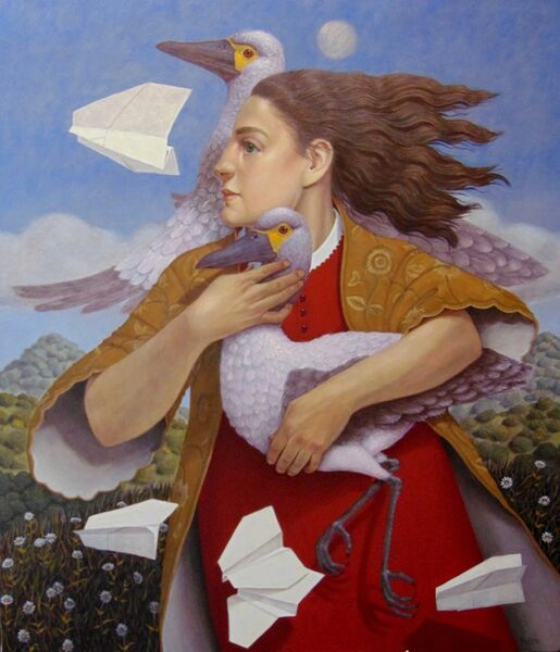 Armando Valero, 'The Wind and the Paper Birds', 2018