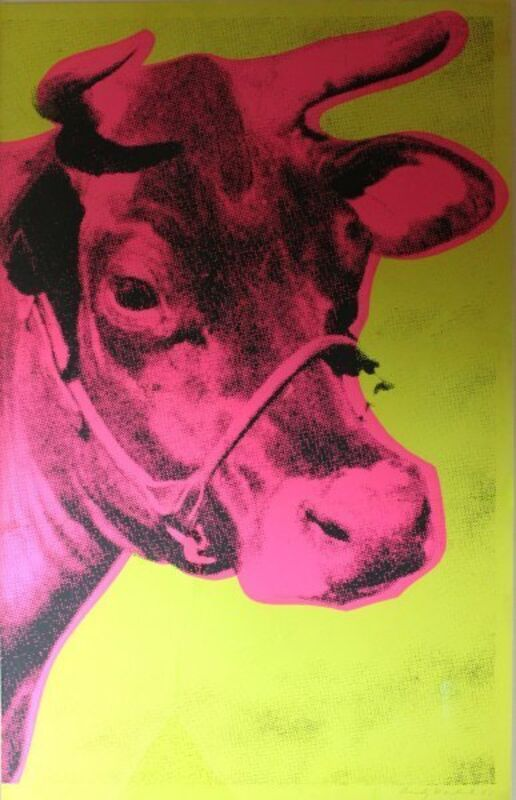 Andy Warhol, 'Cow', Print, Print, Dean Borghi Fine Art