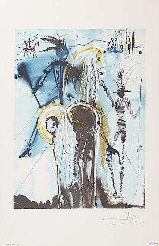 Salvador Dalí, 'Don Quichotte', 1983, Print, Lithograph, Viva la Vida Art Gallery