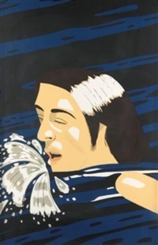 Alex Katz, 'Olympic Swimmer', 1976, Print, Silkscreen, Maune Contemporary
