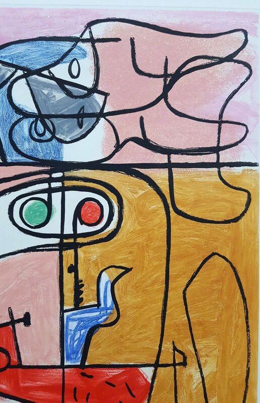 Le Corbusier, 'Unité, Planche 2 (Set of 2)', 1965, Print, Etching, Aquatint, Graves International Art