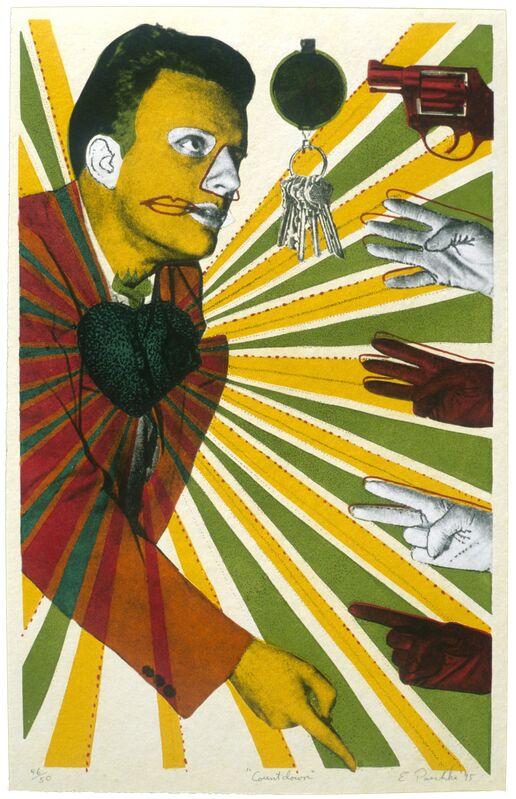 Ed Paschke, 'Countdown ', 1995, Print, Mixografia print on handmade paper, Mixografia