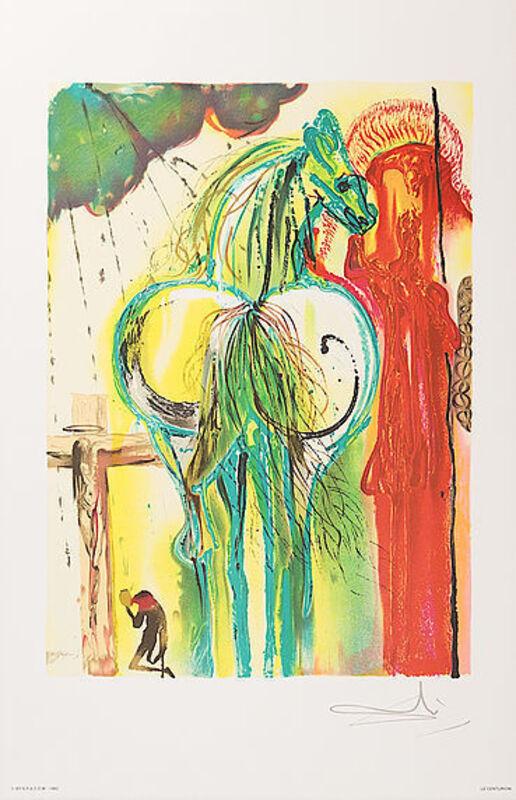 Salvador Dalí, 'Le Centurion', 1983, Print, Lithograph, Viva la Vida Art Gallery