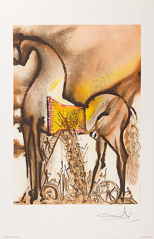 Salvador Dalí, 'Cheval De Troie', 1983, Print, Lithograph, Viva la Vida Art Gallery