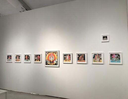 Christopher Cutts Gallery  at Art Miami 2018, installation view