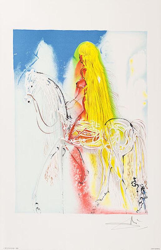 Salvador Dalí, 'Lady Godiva', 1983, Print, Lithograph, Viva la Vida Art Gallery