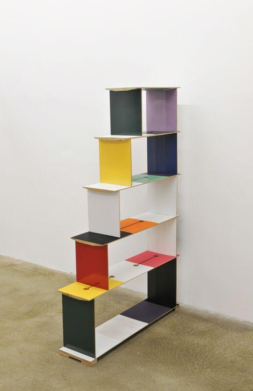 Joe Scanlan, 'Möbel (color chart)', 2011, Other, Wood, glue, enamel paint, Galerie Martin Janda