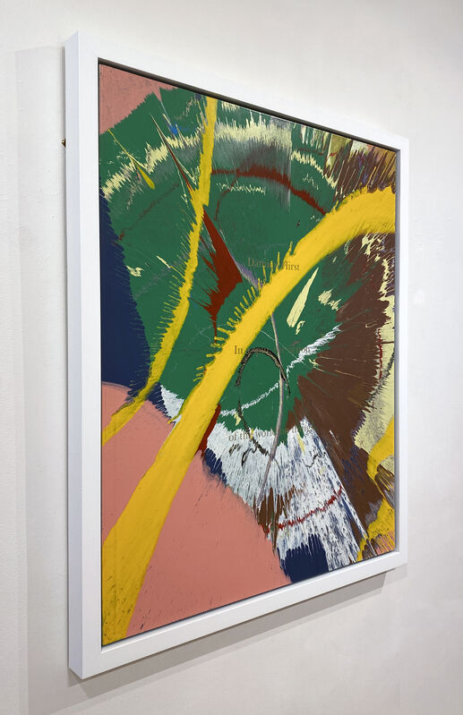 Damien Hirst, 'Unique Spin (portfolio cover for In a Spin, The Action of the World on Things)', 2002, Painting, Acrylic Household Gloss on Fiberboard, DTR Modern Galleries