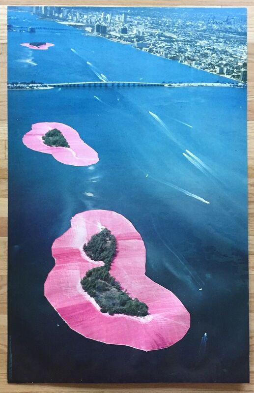 Christo, 'Surrounded Islands, Miami (Signed Poster)', 1983, Ephemera or Merchandise, Offset lithograph, Kwiat Art
