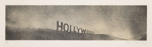 Hollywood in the Rain, from Hollywood Collects