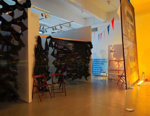 Mark Flood: The INSIDER ART FAIR 2014, installation view