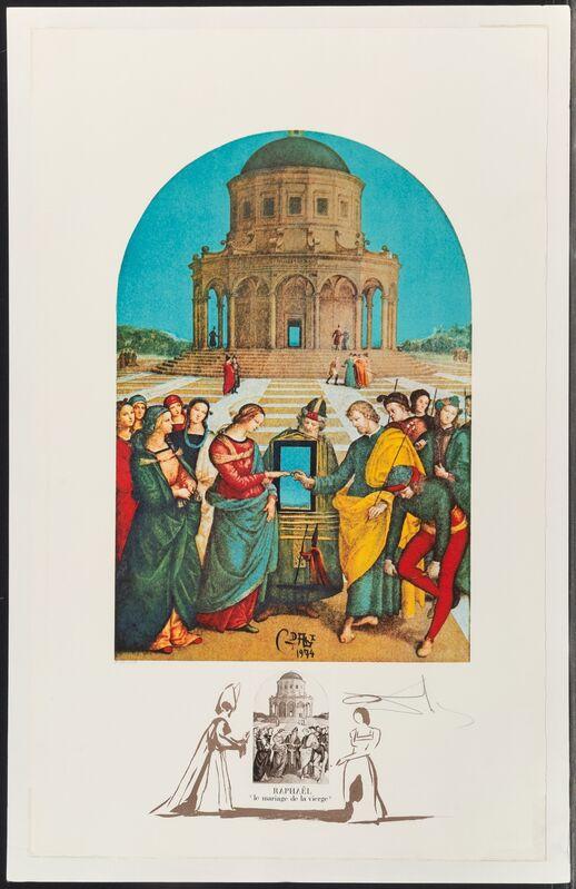 Salvador Dalí, 'Raphael', 1974, Print, Lithograph in colors, Heritage Auctions